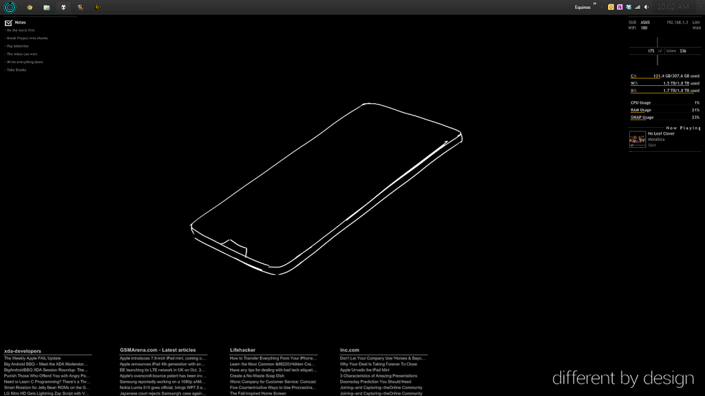 Desktop Screenshot: October 2012