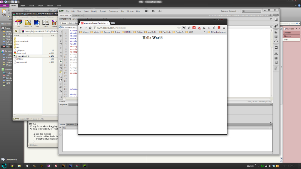 Oracle Website Hacked