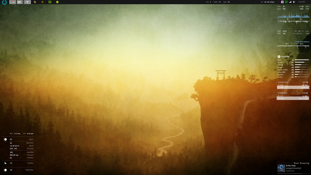 Desktop Screenshot: February 2013