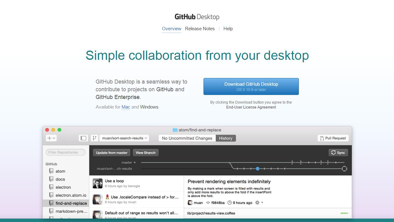 GitHub Desktop Mac Cropped